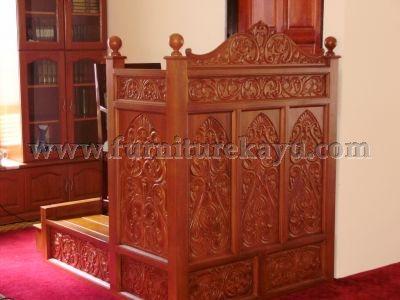 Furniture Kayu Mimbar Jati Jepara FK 511