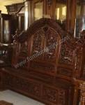 Kerajinan Jepara Tempat Tidur Kayu Ukir FK 213