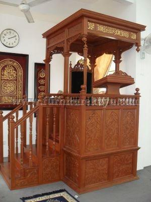 Mimbar Masjid Jati Jepara FK 507
