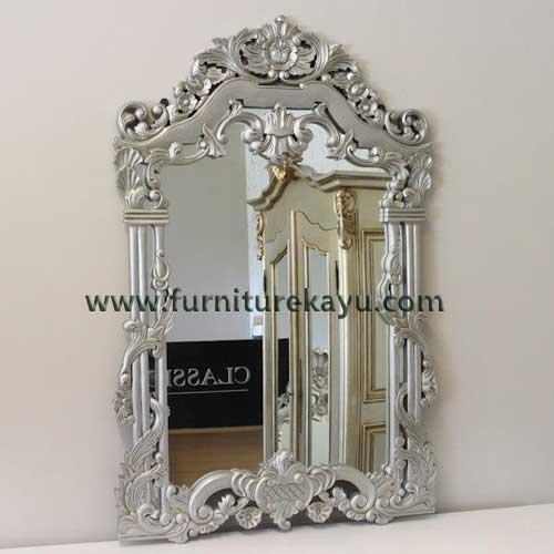 Mebel Ukir Pigura Frame Silver FK 835