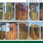 Gallery Mimbar Ukir Jepara