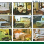 Tempat Tidur Kayu Ukiran Jepara MPB 1309 - MPB 1400