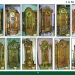 Jam Hias Jati Ukiran Jepara MPB 1823 - MPB 1845