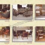 Set Kursi Tamu Jepara SLM 001 - SLM 006