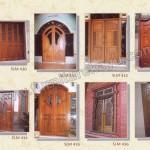 Kusen Pintu Kayu Jati Jepara SLM 430 - SLM 437