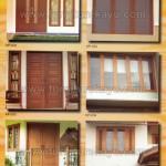 Kusen Pintu Jendela Kayu Jepara KP 031 - KP 036