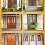 Kusen Pintu Jendela Kayu Jepara KP 055 - KP 060