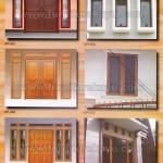 Kusen Pintu Jendela Kayu Jepara KP 067 - KP 072