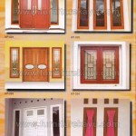 Kusen Pintu Jendela Kayu Jepara KP 091 - KP 096
