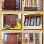 Kusen Pintu Jendela Kayu Jepara KP 121 - KP 126