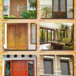 Kusen Pintu Jendela Kayu Jepara KP 145 - KP 150