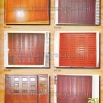 Pintu Garasi Kayu Jepara PG 001 - PG 006