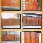 Pintu Garasi Kayu Jepara PG 025 - PG 030