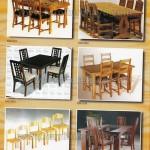 Katalog Set Kursi Makan Kayu Jepara