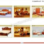 Tempat Tidur Jati MPB 190 - MPB 195