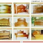 Tempat Tidur Jati MPB 249 - MPB 257