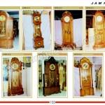 Jam Hias Jati MPB 810 - MPB 816