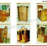 Mimbar Masjid Jati Jepara MPB 817 - MPB 822