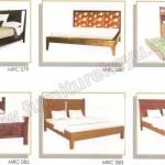 Tempat Tidur Minimalis Jati Jepara MRC 079 - MRC 084