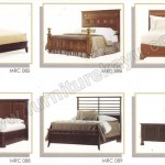 Tempat Tidur Minimalis Jati Jepara MRC 085 - MRC 090