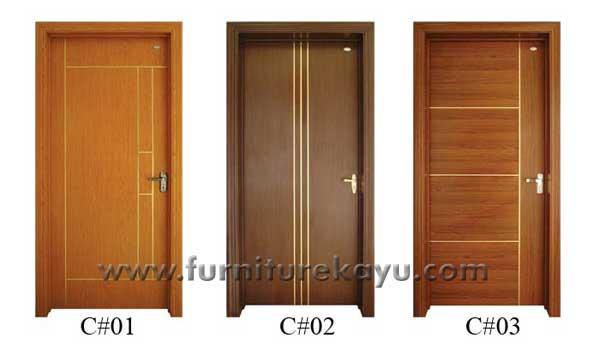 Model Pintu Kayu Jati Jepara KP 013