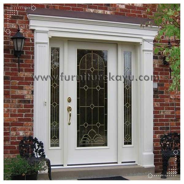 kusen pintu duco putih kp 009