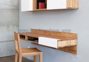 Desain Meja Kerja Minimalis dalam Kamar