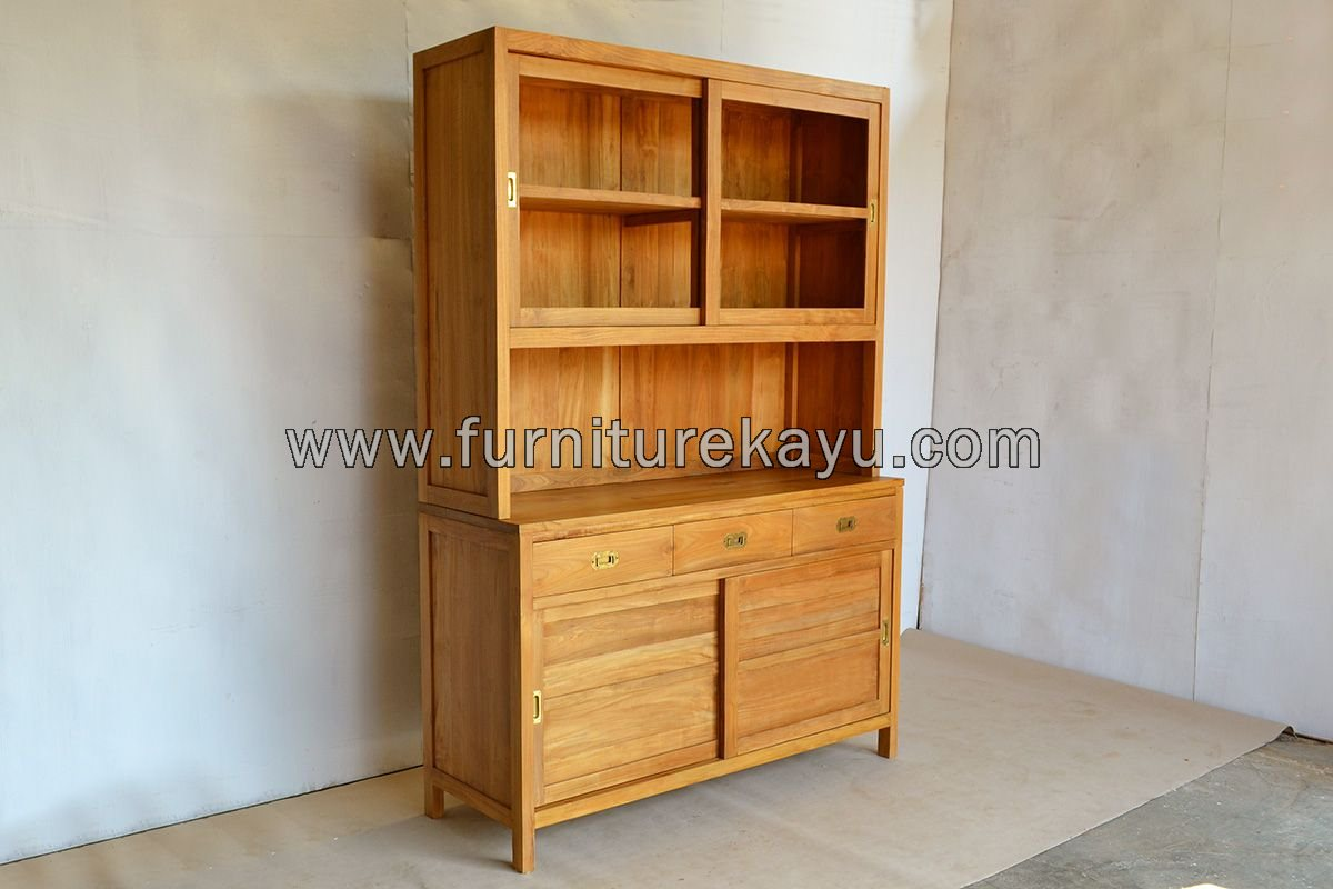Kitchen Kabinet Kayu Jati