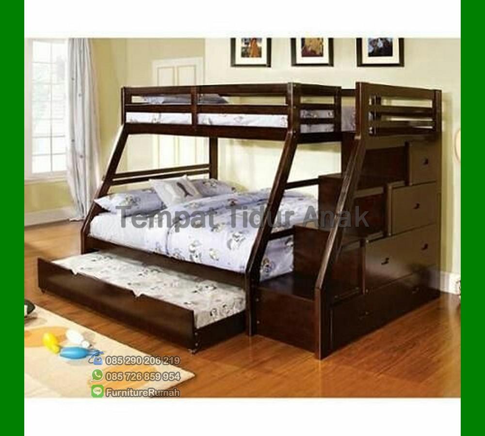 Harga Tempat Tidur Anak Perempuan Bertingkat FK TA 528