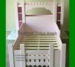 Model Tempat Tidur Anak Perempuan FK TA 555