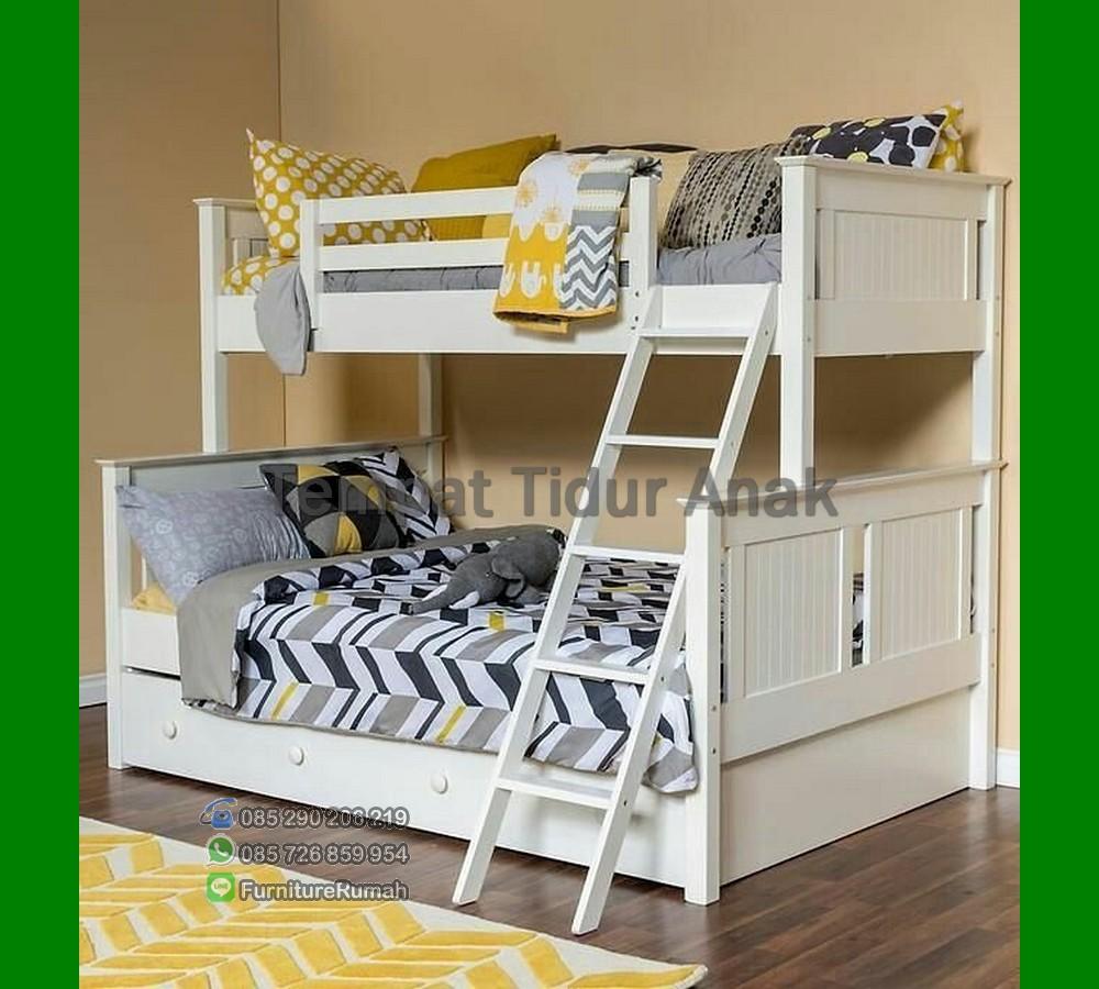 Model Tempat Tidur Anak Wanita FK TA 492