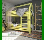 Tempat Tidur Anak Cowok Minimalis FK TA 255