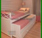 Tempat Tidur Anak Minimalis Tingkat FK TA 748