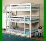 Tempat Tidur Anak Tingkat Murah FK TA 456