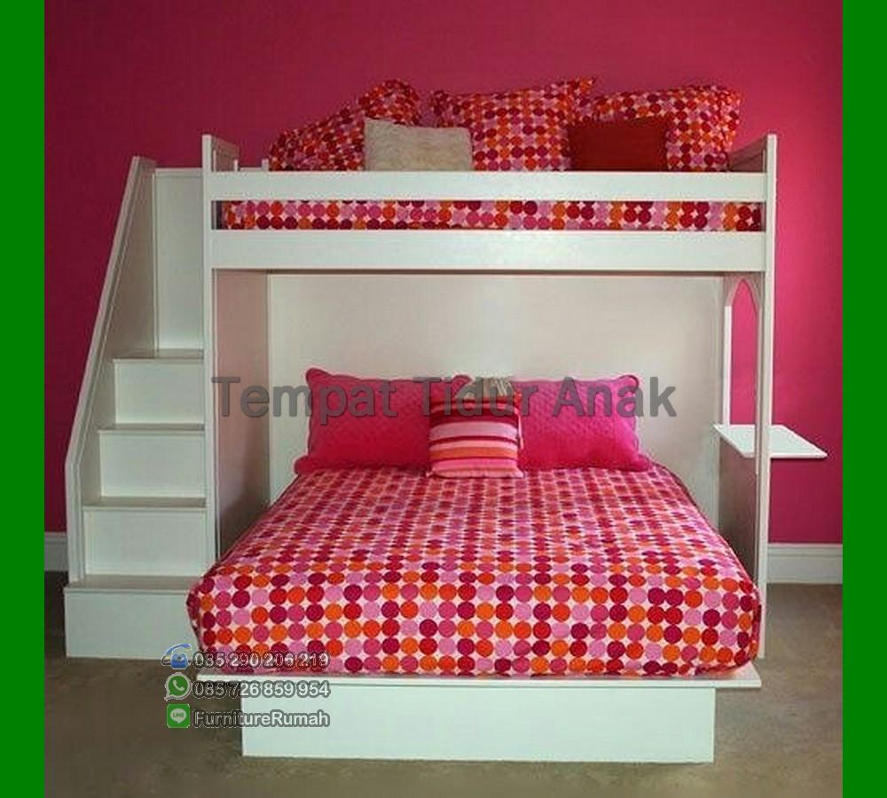 Tempat Tidur Tingkat Anak Anak Perempuan FK TA 523