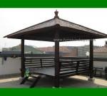 Desain Rumah Gazebo Kayu Kelapa FK-GZ 818