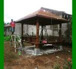 Pemasangan Gazebo Minimalis 3×3 Meter di Tangerang FK-GZ 863