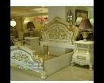 Contoh Set Tempat Tidur Modern Duco Klasik Langsam FK KS 121