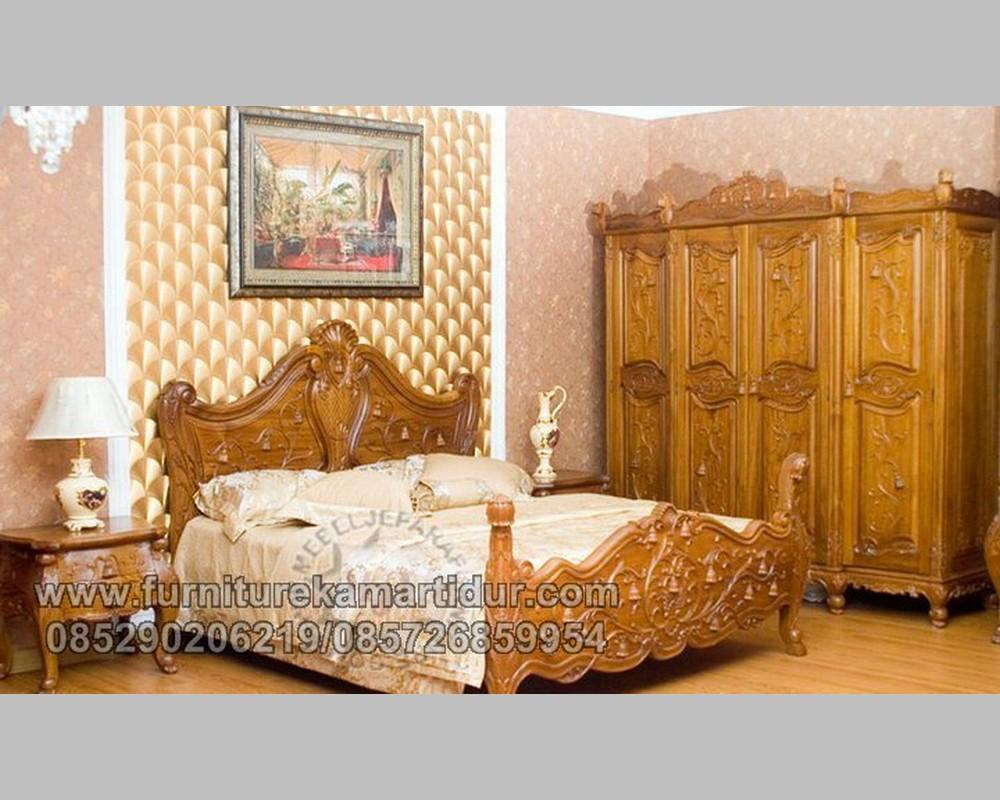 Furniture Klasik Jati Solid Natural Furnishing Jepara FK KS 160