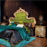 Furniutre Apartemen Mewah Set Tempat Tidur Jok Green FK KS 179