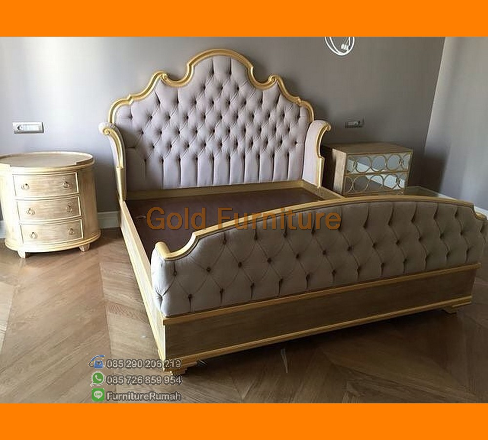 Gold Furniture Jepara dengan Pilihan Set Kamar Tidur Mewah Jok FK KS 191