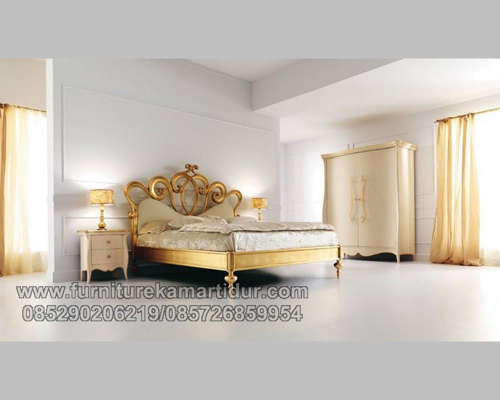 Golden Furniture Set Kamar Mewah Ukiran Asli Jepara FK KS 192