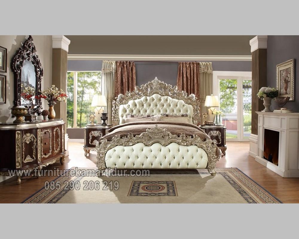 Harga Furniture Kamar dengan Set Tempat Tidur Duco Silver FK KS 193