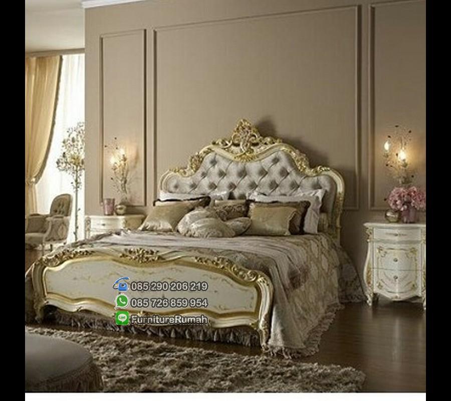 Harga Set Tempat Tidur Ukiran Klasik FK KS 195