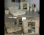 Kamar Set Furniture Duco Kombinasi Emas Glossy FK KS 209