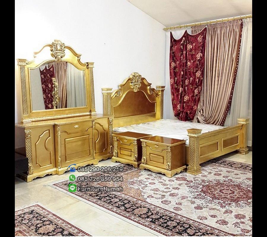 Kamar Tidur Set Gold Furniture Jepara FK KS 218