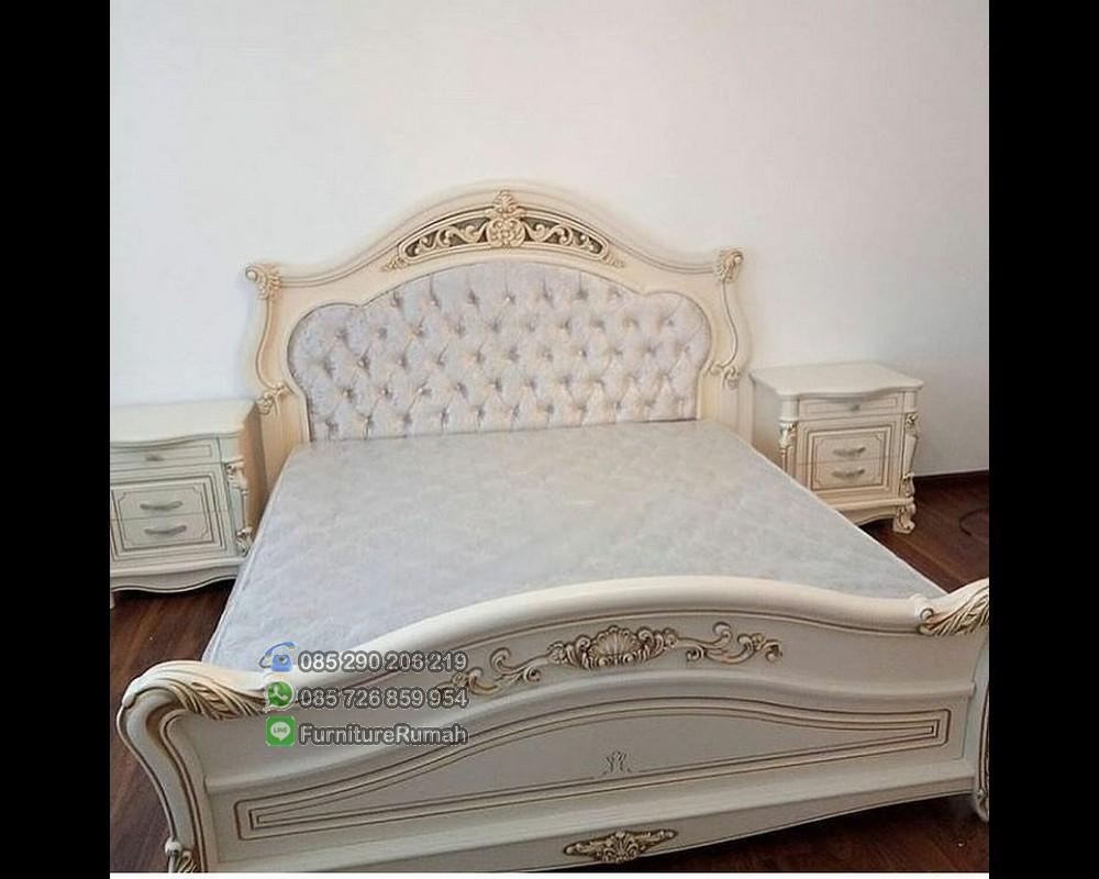 Sample Pilihan Model Tempat Tidur Set Nakas 2 Kanan Kiri FK KS 258