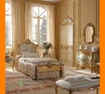 Set Tempat Tidur Klasik Duco Gold Untuk Anak FK KS 277