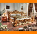 Set Tempat Tidur Mewah Full Ukiran Klasik Ukuran 200×200 FK KS 280