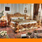 Set Tempat Tidur Mewah Full Ukiran Klasik Ukuran 200x200 FK KS 280